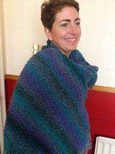 The shawl for Matthew