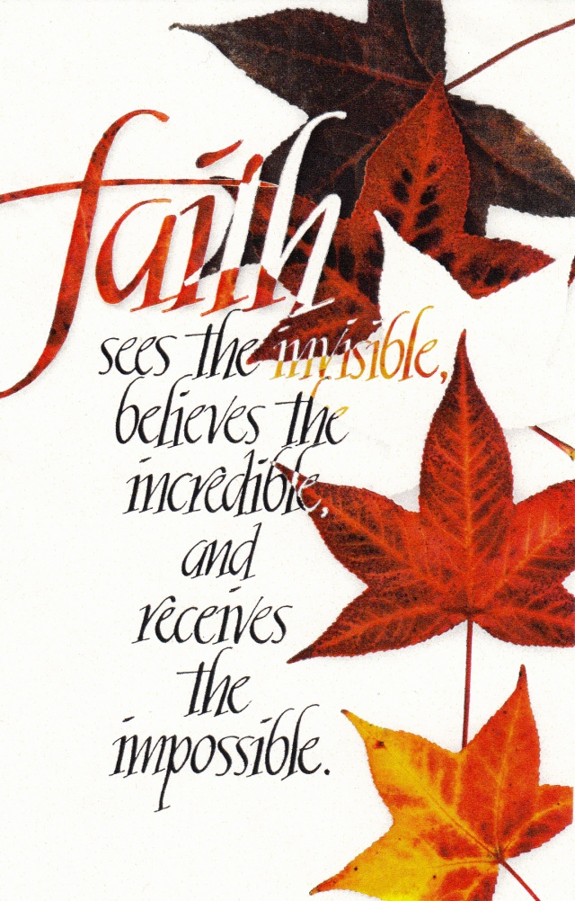 faith believes