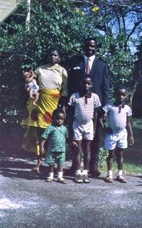 99 Essien & family