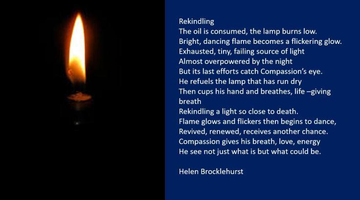 Rekindling poem