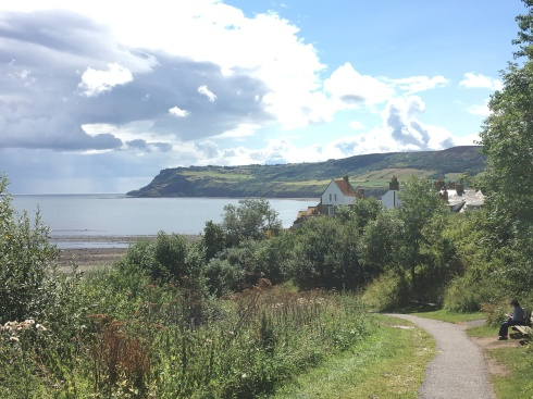 The view of Robin Hood's Bay